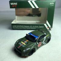 1/64 TSM MINI GT LB WORKS Nissan GT-R R35 Duck Tail Ver Zero Fighter Special