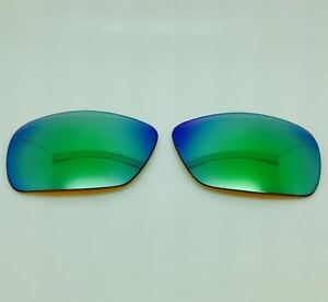 Arnette Hold Up 4139 Custom Replacement Lenses Brown w/ Green Mirror Polarized