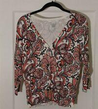 Grace Knitwear Women's Button Down Sweater SZ Medium