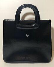 Valentino By Mario Valentino Patent Black Tote Bag 🔥