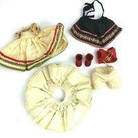 Vintage Madame Alexander Polish Girl Doll Clothes Outfit Dress (No Doll)