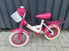 Mia Kinderfahrrad 12 Zoll - rosa mit Stützrädern - Mädchen