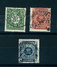 Denmark Stamps Scott # 178-80 Complete Set Used Fine (S5)