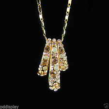 Crystal Lab-Created/Cultured Fashion Necklaces & Pendants