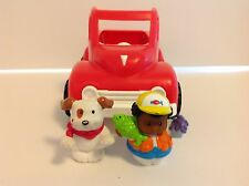 Fisher Price Little People Pony Pickup Red Truck 1994 Vintage #2591 VGUC