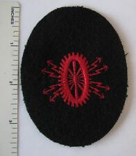 ORIGINAL WW2 Vintage GERMAN NAVY TECHINCAL ELECTRICAL COURSE PATCH