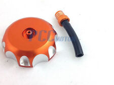 ORANGE CNC BILLET GAS FUEL CAP KTM 50 65 80 125 200 250 300 360 380 00-05 I GC14