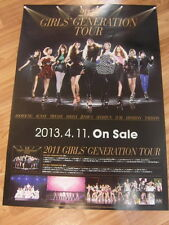 SNSD GIRLS' GENERATION - 2011 TOUR [ORIGINAL POSTER] K-POP *NEW*