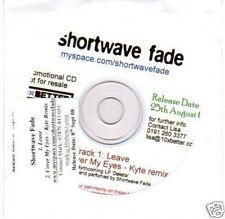 (H560) Shortwave Fade, Leave - DJ CD