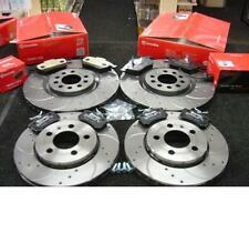 Audi A5 Coupe 2.0 SPORT CROSS DRILLED  BRAKE DISCS BREMBO PADS FRONT REAR