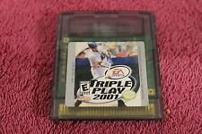 Triple Play 2001 (RARE) Gameboy Colour/Advance/SP - FREE POST