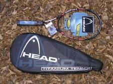 New Head Ti. Heat Cz Strung racket cover Titanium Comfort zone 5 5/8 Rare $199