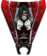 Graphic Decal Kit Canam Commander Can Am Hood Sticker Reaper Revenge Red