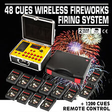 48 Channe Wireless Remote Electric Igniter Fireworks Firing System Birthday Gift
