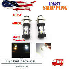 Fit For Honda TRX 250 300 400 450 700 100W LED Super White HeadLight Bulbs x2
