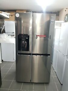 New Unboxed LG GSL761PZXV  Frost Free American Fridge Freezer Stainless Steel