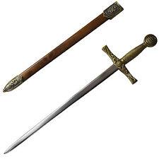 Stainless Steel King Arthur Short Sword Dagger 99% Copper on Elegant Edge