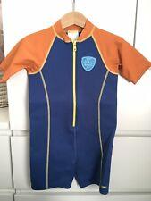 """Speedo Neoprene Thermo Swimsuit """"Sea Squad"""" Age 6 / 116cm VGC"""