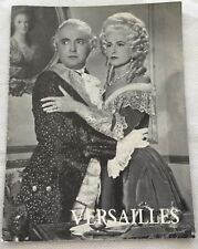 Si Versailles m'était conté Jean-Pierre Aumont Auclair 1951 Danish Movie Program
