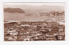 RPPC,Wellington,New Zealand,View of Bay from Tinakori Hill,c.1920-30s
