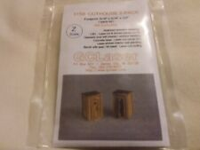 GCLaser 5159 Z Scale Out House Kit 2 Pack