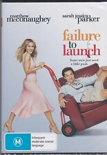 FAILURE TO LAUNCH - Matthew McConaughey, Sarah Jessica Parker, Kathy Bates - DVD
