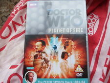 Doctor Who - Planet of Fire - REGION 2 - US buyers will need multi-region player