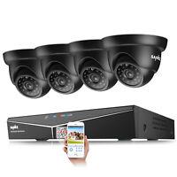 SANNCE 1500TVL Outdoor Security Camera 8CH 1080N HD DVR CCTV Surveillance System