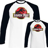 JURASSIC PARK T-SHIRT Mens Dinosaur Unisex Top Retro Movie Classic Movie T-Rex