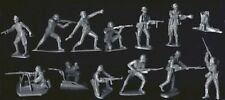CTS WWII German Infantry Platoon w MG Team Set 12 Plastic Toy Soldiers FREE SHIP