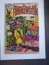 El Monster Frankenstein Exorcismo 17 rare Mexican comic Herdez Medina Marvel 76