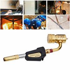 Gas Self Ignition Plumbing Turbine Torch Propane Soldering Brazing Welding Tool
