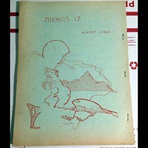 Original 1966 Niekas no. 17 science fiction sci/fi fanzine - review by ED WOOD