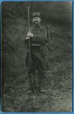 CPA Photo: Poilu du 33° Régiment d'Infanterie Territoriale / Guerre 14-18