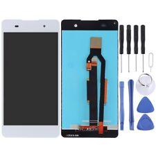 Para Sony Xperia E5 tela LCD digitalizadora sensível Parte De Vidro Branco