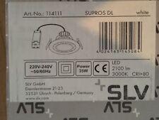 SLV SUPROS DL 114111 Deckeneinbau rund weiß 3000lm Deckenlampe Einbauleuchte
