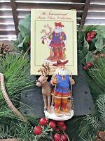 c.2000 MIB! VTG The International Santa Claus Collection ~LAPLAND~JOULUPUKKI~