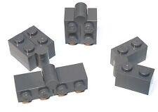 4x LEGO® Scharnier-Stein Gelenk 1x4 / 2x2 3830/3831 3830c01 NEU Dunkelgrau