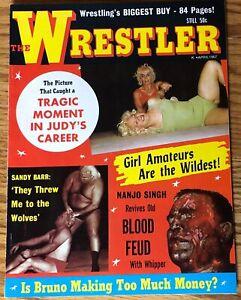 Vintage April 1967 THE WRESTLER Volume 1 Number 3 Magazine