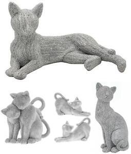 Leonardo Silver Art Sitting Cat Cats Pet Ornament Sparkling Glittering Figures