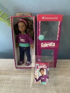 "American Girl Mini Gabriela McBride Doll 7"" Girl Of Year 2017"