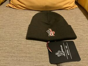 MONCLER GRENOBLE BEANIE HAT BRAND NEW