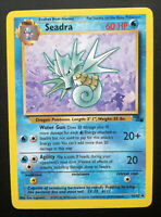 Pokemon card Seadra 42/62 Stage 1 Uncommon Water Mint 1st Edition Fossil set