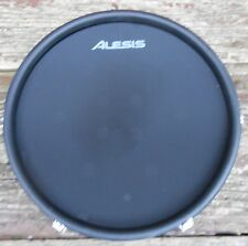 "NEW Alesis 10"" Dual-Zone Black Electronic Mesh Pad from DM10 MKII Kit"