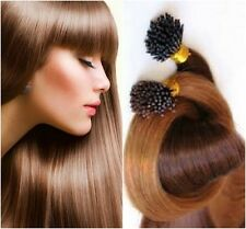"""Pre-Bonded I-Tip Extensions Finest European Remy Hair 100 Strands 22"""" Any Color"""