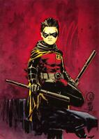 ROBIN / DC Comics The New 52 (Cryptozoic 2012) BASE Trading Card #44