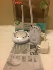 Fisher Price Sounds N Lights Baby Monitor Nightlight White Monitor Base M5579