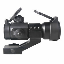 Red Green Dot Sight Scope Tactical Reflex  w/ 20mm Weaver Rail 4 MOA
