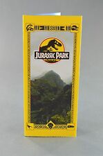Jurassic Park Tour Brochure Guide Pamphlet Prop Replica Screen Accurate New