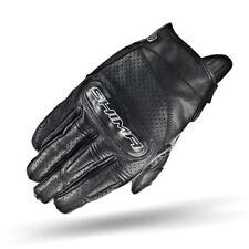 SHIMA CALIBER BLACK, Heritage Retro Vintage Classic Summer Motorcycle Gloves